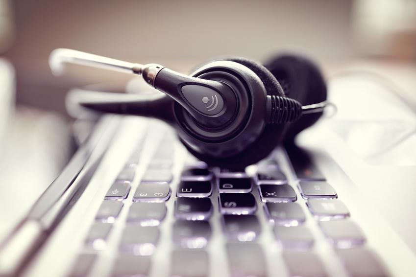Bild zeigt ein Headset zur Onlinecoaching Beratung